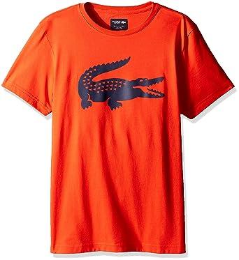 add2d128 Amazon.com: Lacoste Men's Sport Croc Graphic T, Etna Red/Navy Blue XXX-Large:  Clothing