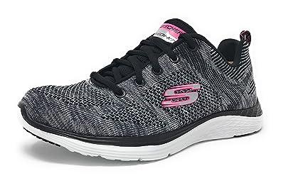 info for ff513 661ff Skechers Sport Womens Valeris Fashion Sneaker (7 M US, Gray Hot Pink)
