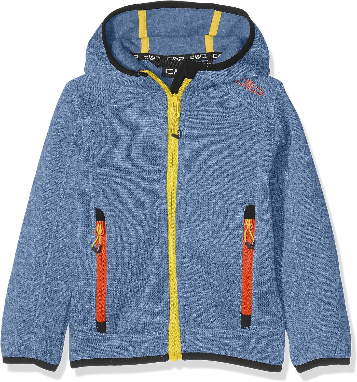 Giacca di Pile Bambino CMP Knit Tech 3H60844
