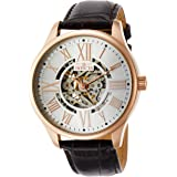 Invicta Men's 22569 Vintage Analog Display Automatic Self Wind Brown/Rose GoldWatch