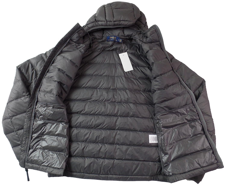 26a98ed0d Amazon.com: Polo Ralph Lauren Mens Full Zip Hooded Puffer Jacket: Clothing