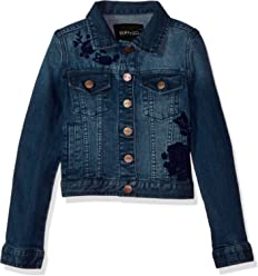 Buffalo David Bitton Girls Big Denim Jacket