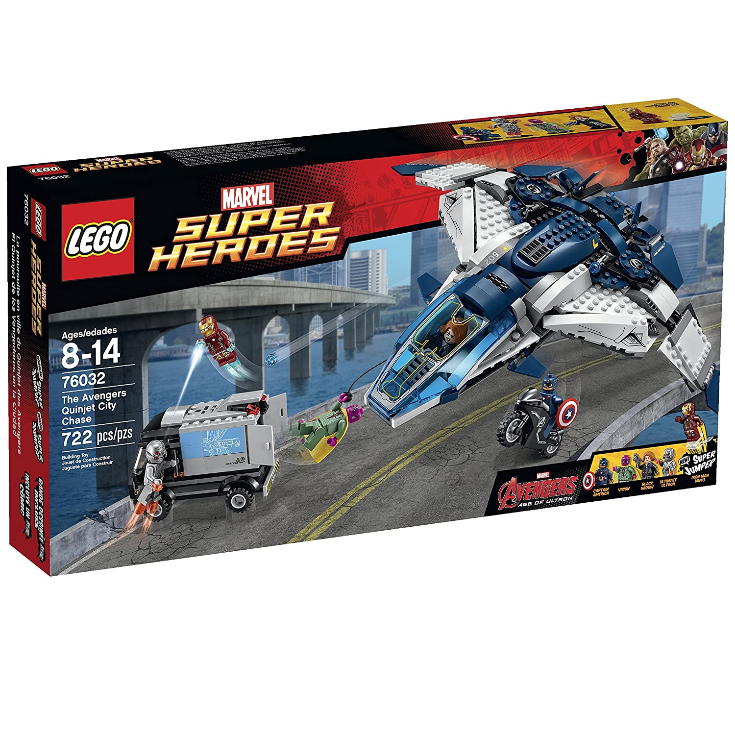 Top 9 Best LEGO Captain America Sets Reviews in 2020 9