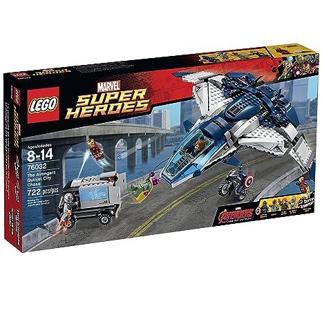 LEGO 乐高 76032 昆式战机城市追逐 $55.99 到手¥470