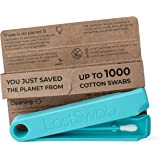 LastSwab Reusable Cotton Swabs for Ear Cleaning - Eco Friendly Q tips - Bio-Based Carrying Case - Easy to Clean - Designed in