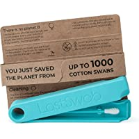 LastSwab Reusable Cotton Buds for Ears - Environmentally Friendly Q tips - Designed in Denmark - Easy to Clean - Zero…