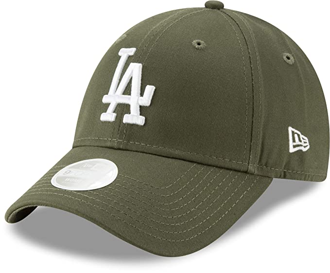 the best attitude 3a320 73e7a New Era Los Angeles Dodgers 9forty Adjustable Women Cap League Essential  Olive White - One