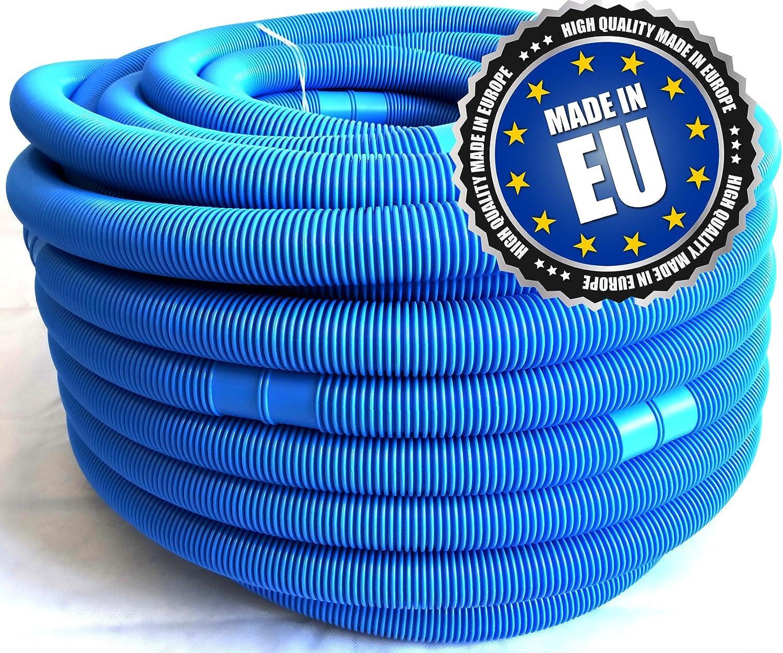 Universalschlauch f/ür Poolpumpe Schwimmbadschlauch Poolheizungen com-four/® Poolschlauch 32 mm Salzautomaten Sandfilteranlagen