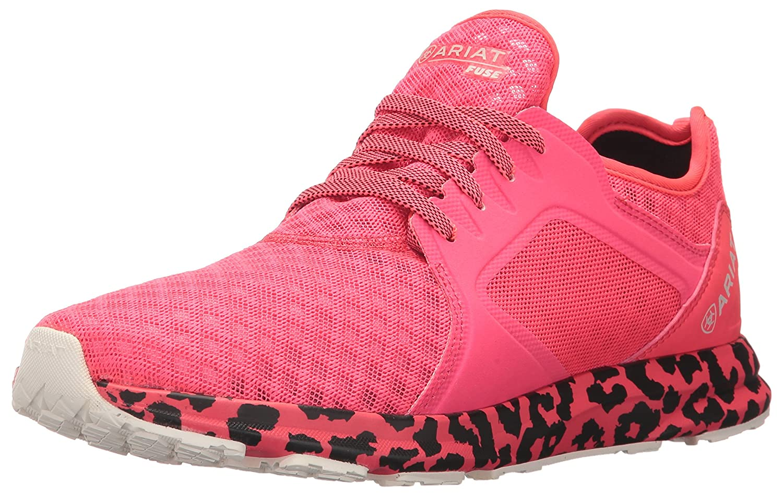 Ariat Women's Fuse Athletic Shoe B01N4TIGX7 9.5 B(M) US|Neon Pink Mesh