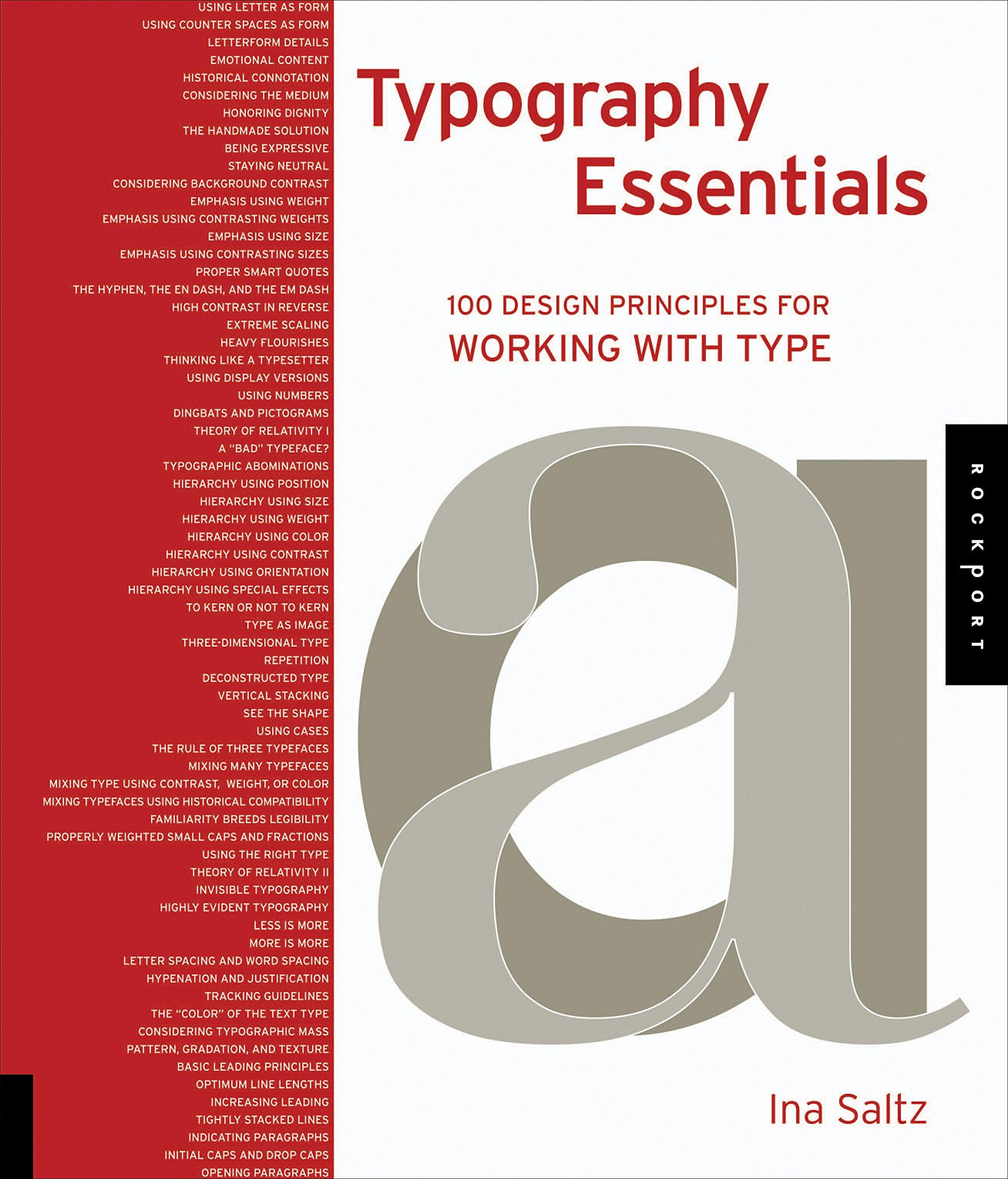 Typography Essentials Design Principles Working product image