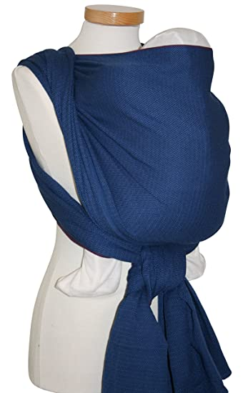 Amazon.com   Storchenwiege Woven Cotton Baby Carrier Wrap (4.6, Leo Marine)    Child Carrier Slings   Baby cdb65d764e6