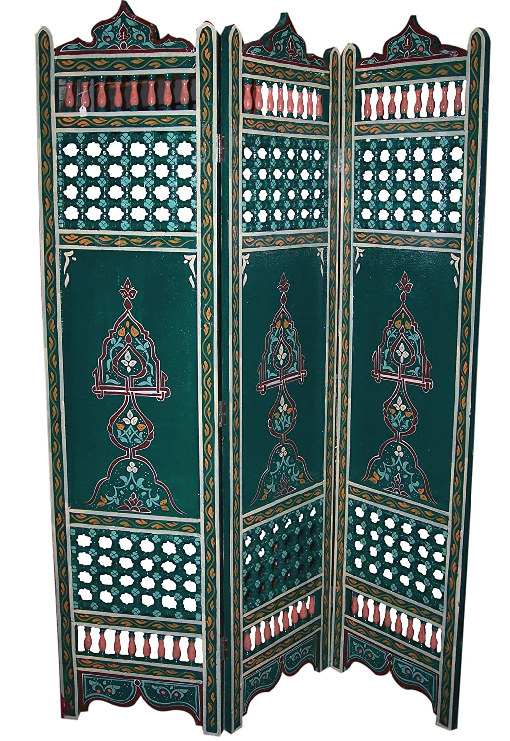 Amazoncom Moroccan Wood Room Divider Kitchen Dining
