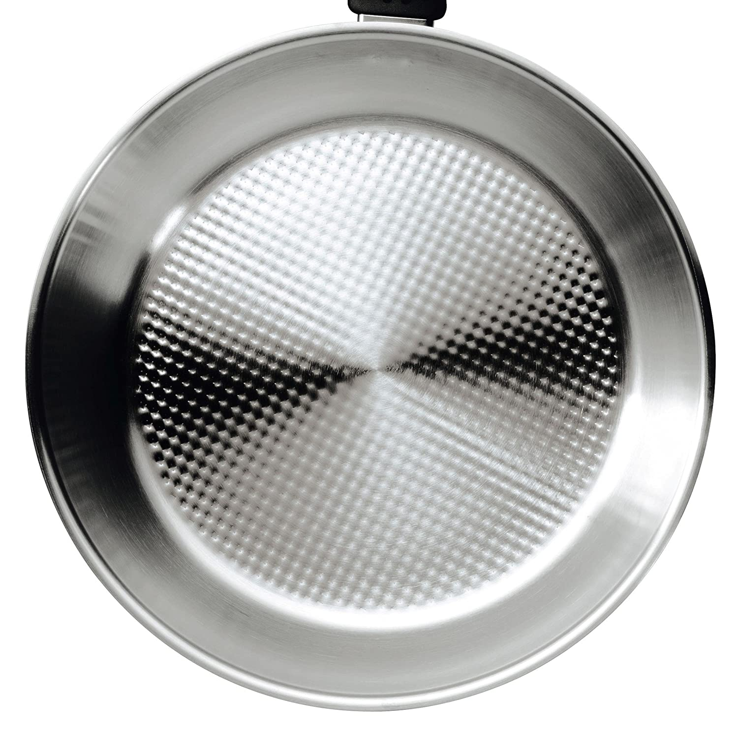 Amazon.com: Kuhn Rikon Silver Star Frying Pan with Super Thermic Sandwich Base, 10.25