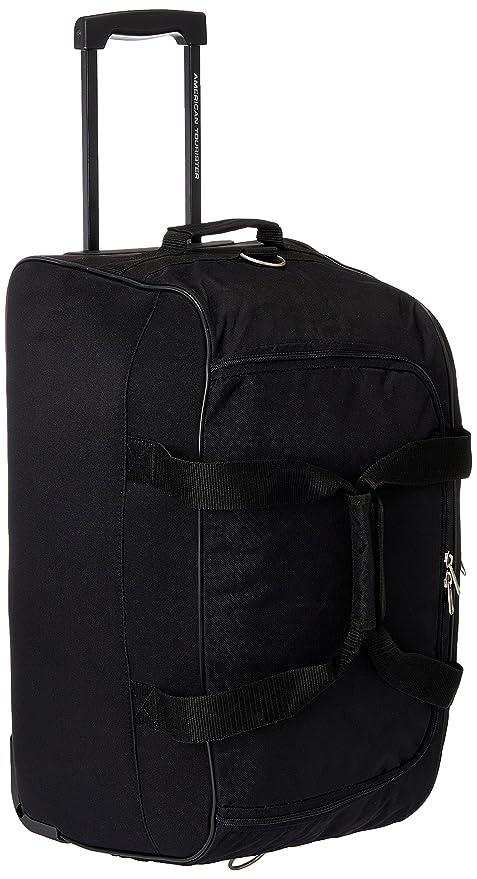 American Tourister Polyester Black Travel Duffle (Y65 (0) 09 367)   Amazon.in  Bags de0ff9e7150f8