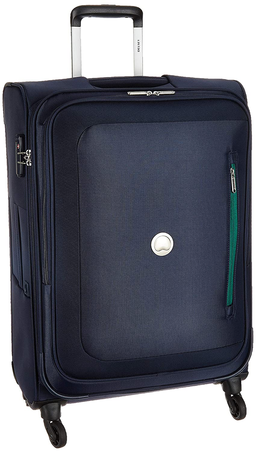 Delsey Polyester 56 cms Navy Blue Softsided Cabin Luggage