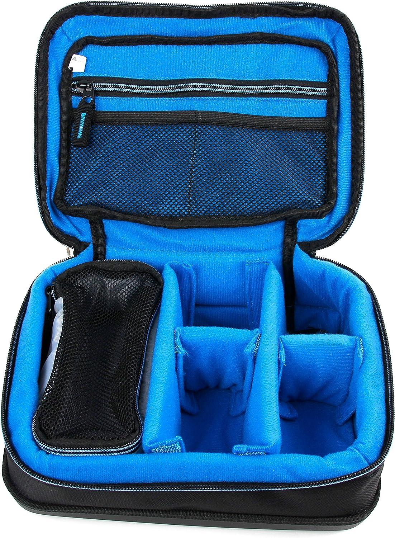 DURAGADGET Bolsa Acolchada Profesional Negra con Compartimentos para maquinilla de Afeitar/Corta Pelo Braun Series 3 310S / YOHOOLYO/GHB Cortapelos/ELEHOT