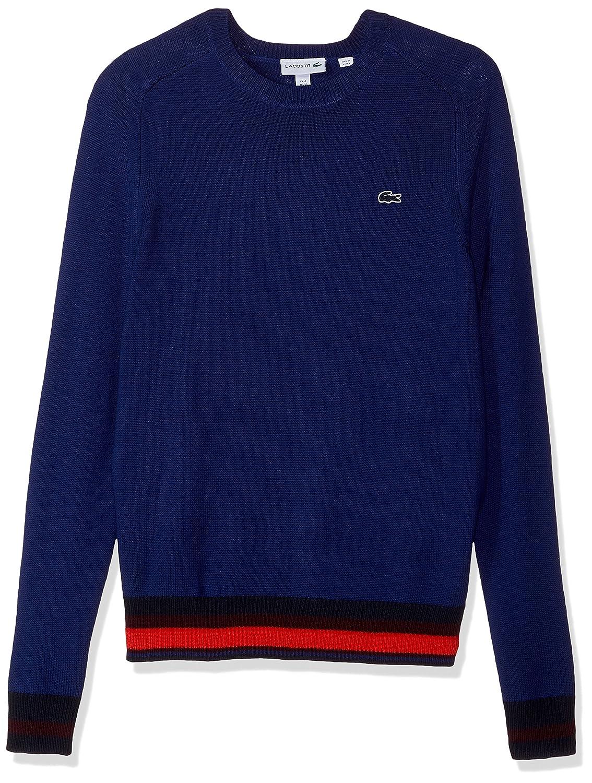 fc06a3edd6bf Methylene Multico Lacoste Men's Men's Men's Holiday Wool Sweater 1c78c8