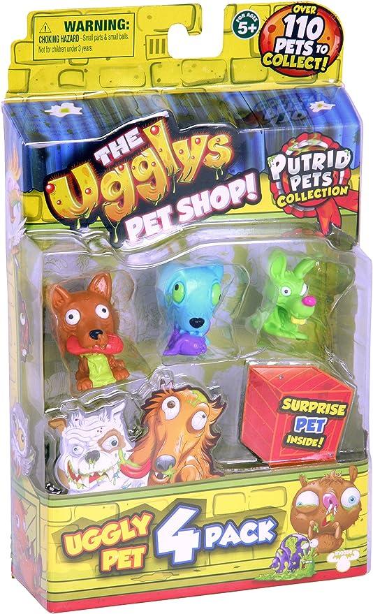 The Ugglys Pet Shop - 4 Pack - Series 1: Amazon.es: Juguetes y juegos