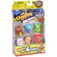 THE UGGLYS PET SHOP Putrid Pets Toy Figure (4 Pack)