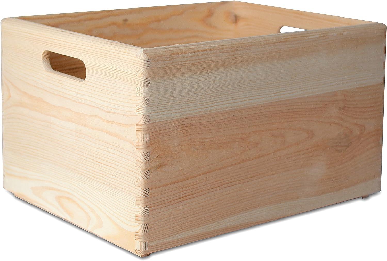 Creative Deco XXL Grande Caja de Madera para Decorar | 40 x 30 x ...