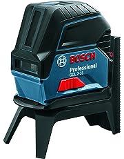 Bosch Professional GCL 2-15 - Nivel láser (alcance 15m, proyección 2 líneas /2 puntos, placa reflectora, soporte giratorio RM 1, en caja)
