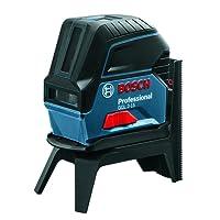 Bosch Professional Kreuzlinienlaser GCL 2-15 (Halterung, 3x AA Batterien, Zieltafel, Schutztasche, Einlage für L-BOXX, Karton, Arbeitsbereich: 15 m)