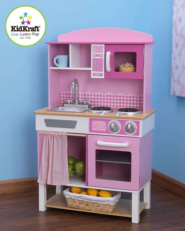 KidKraft 53198 Cuisine enfant en bois Home Cookin jeu dimitation