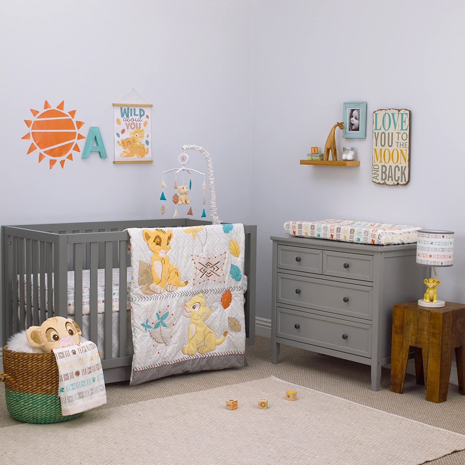 The Lion King COMFORTER ONLY by Disney Baby Go Wild