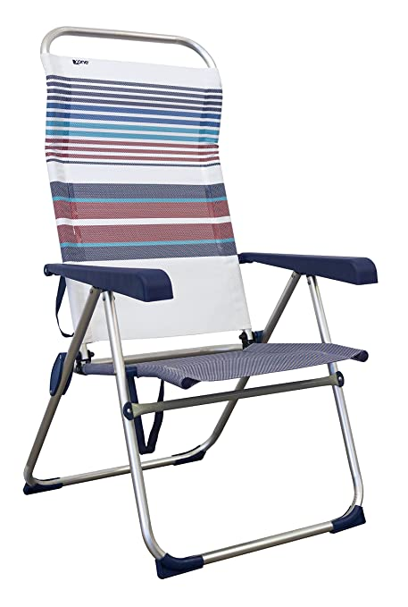 Sdraio Da Spiaggia Portatile.Xone Poltrona Vintage Pieghevole Portatile Per Mare Piscina Giardino Campeggio Sedia Sdraio Da Spiaggia Richiudibile Struttura In Alluminio E