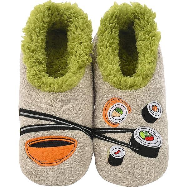Yammy Yammy Biker Ikura Indoor Slippers Adult Feet
