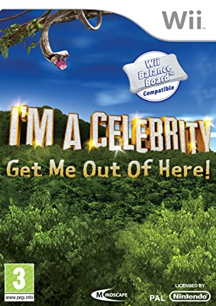 i m a celebrity get me out of here wii amazon co uk pc