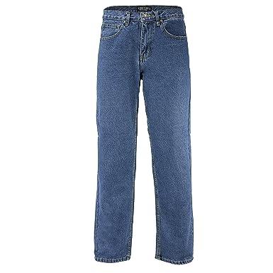 ef7e474c Georgio Peviani Mens Comfort Fit Jeans Classic 5 Pocket Regular Denim  Trousers: Amazon.co.uk: Clothing