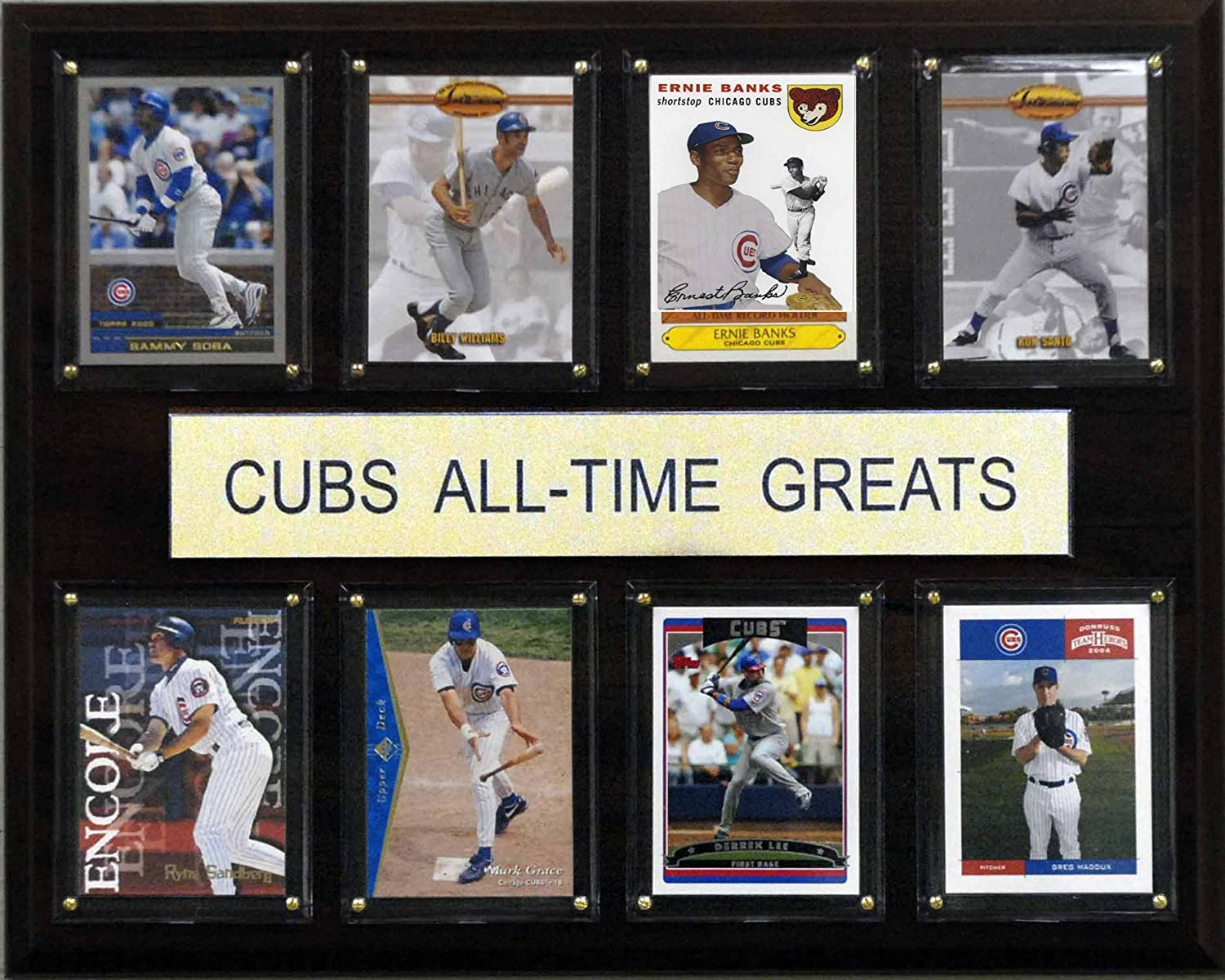 MLB Chicago Cubs All-Time Greats Plaque