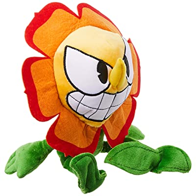 Funko Plush: Cuphead - Cagney Carnantion Collectible Figure, Multicolor: Toys & Games
