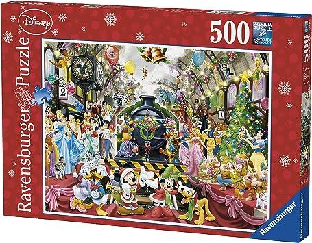 Ravensburger Disney Christmas Train Puzzle - Rompecabezas (Rompecabezas para Suelo, Dibujos, Niños, Disney, 10 año(s), 490 mm): Amazon.es: Juguetes y juegos