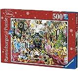Ravensburger - 14739 - Puzzle Le Train de Noel Disney - 500 Pièces