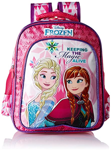 6f21501f906 Frozen Magic Pink School Bag for Children of Age Group 3 - 5 years ...