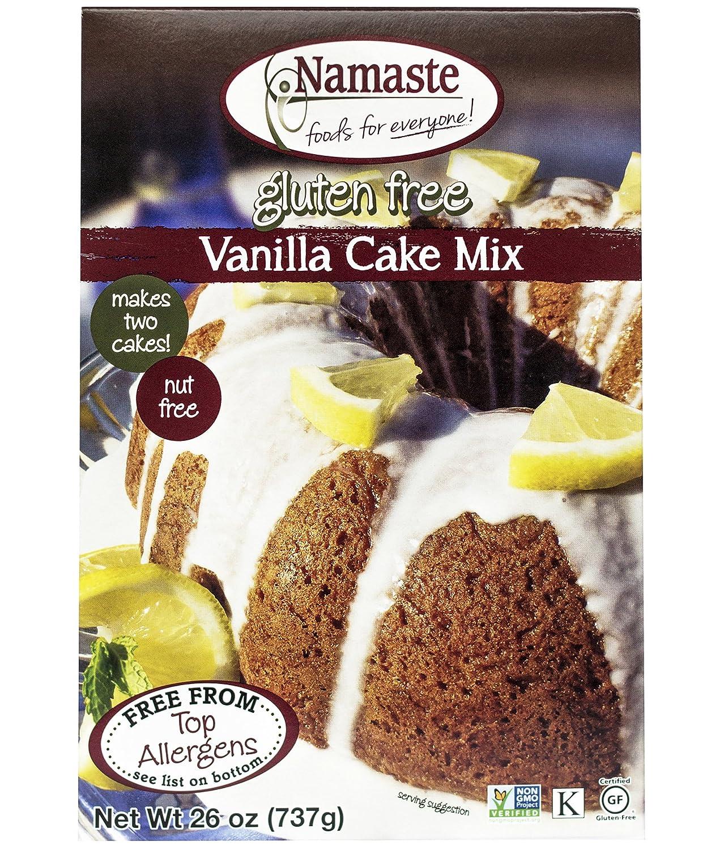 Namaste Foods Gluten Free Pure Vanilla Cake Mix 26 Oz