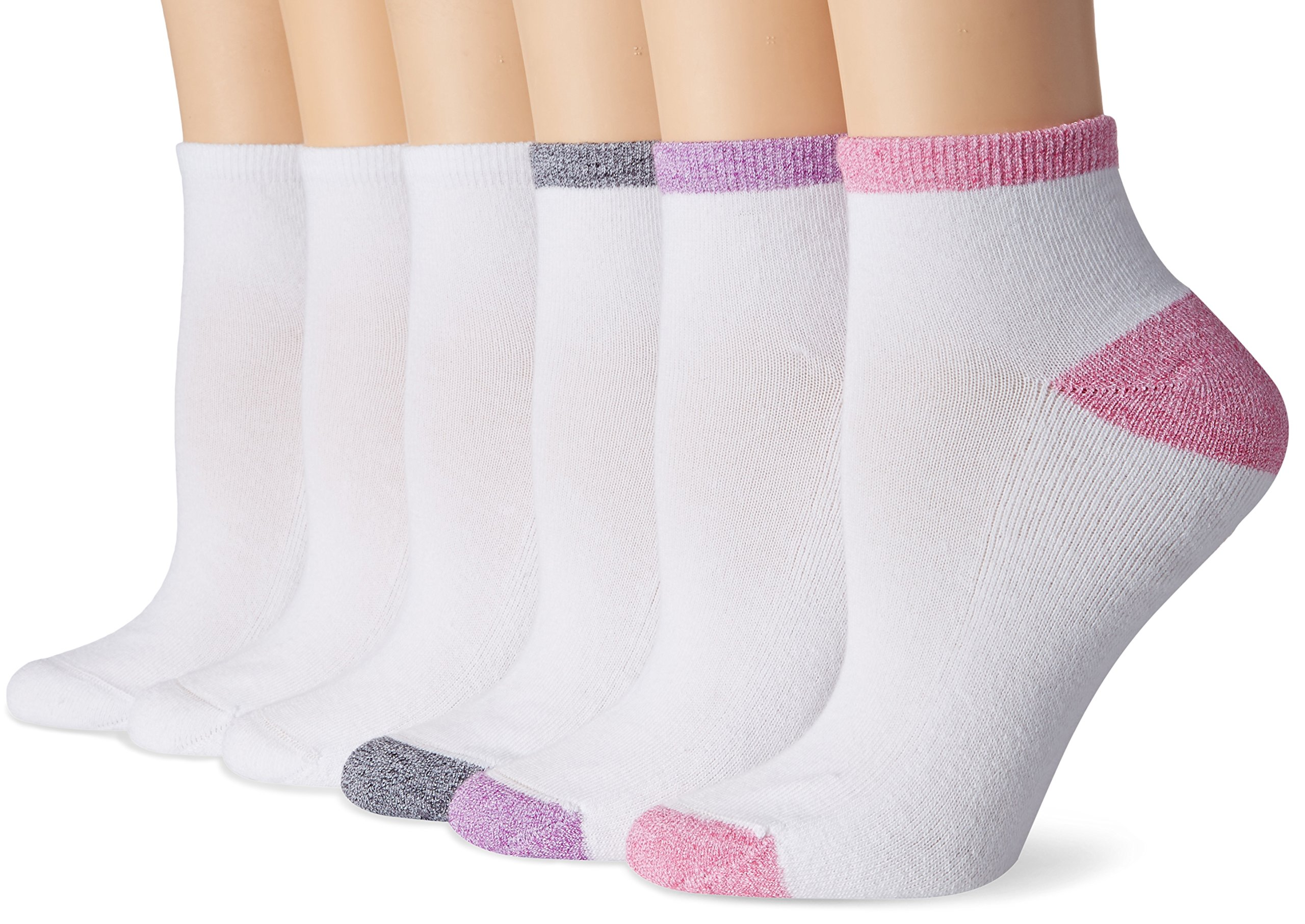 Women's Cool and Dry ComfortBlend Ankle Socks (6-Pack)