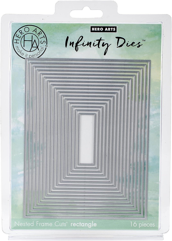 Amazon spellbinders s5 131 nestabilities card creator a 2 hero arts di198 rectangle infinity dies card making kit magicingreecefo Choice Image