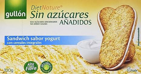 Diet Nature Sándwich Yogur Gullón - 220 g: Amazon.es: Amazon Pantry