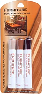 Jacent Brite Concepts Furniture Touch-Up Marker Pens for Dark Medium and Light Finishes, 3 Count Per Pack, 1-Pack