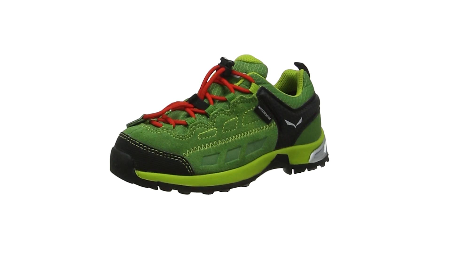 SALEWA Jr ALP Player WP, Zapatillas de Senderismo Unisex Niños: Amazon.es: Zapatos y complementos