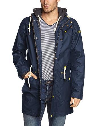 b1d7b74350ddc4 SCHMUDDELWEDDA Men's 86232675 Parka Long Sleeve Raincoat, Blue (Marine 12),  XX-