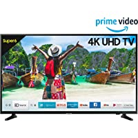 Samsung 108 cm (43 Inches) 4K UHD LED Smart TV UA43NU6100 (Black) (2019 model)