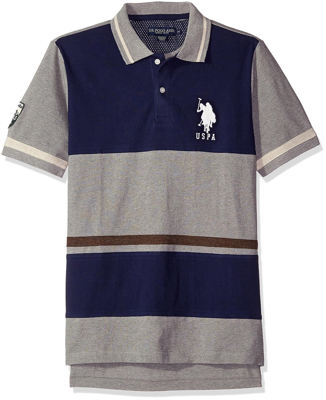 U.S. Polo Assn. Hombres 11-8060-88 Camisa Polo - Azul - Medium ...