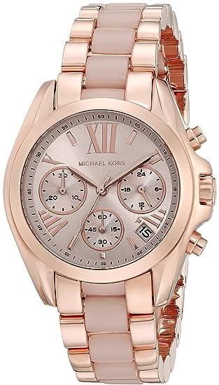 Michael Kors Reloj analogico para Mujer de Cuarzo con Correa en Acero Inoxidable MK6066: Amazon.es: Relojes