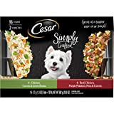 CESAR SIMPLY CRAFTED & WHOLESOME BOWLS Wet Dog Food Variety Packs