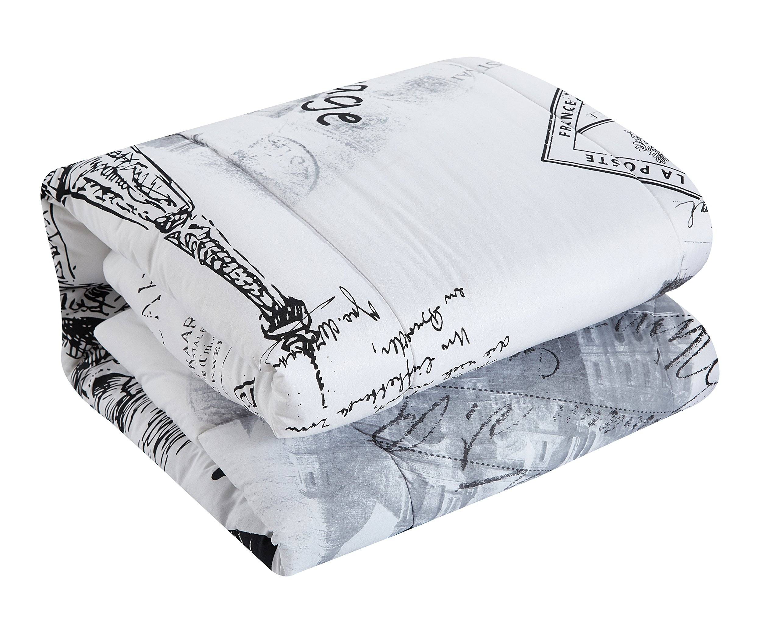 CASA Paris Comforter Set, Full/Queen, 5 Piece by CASA (Image #2)