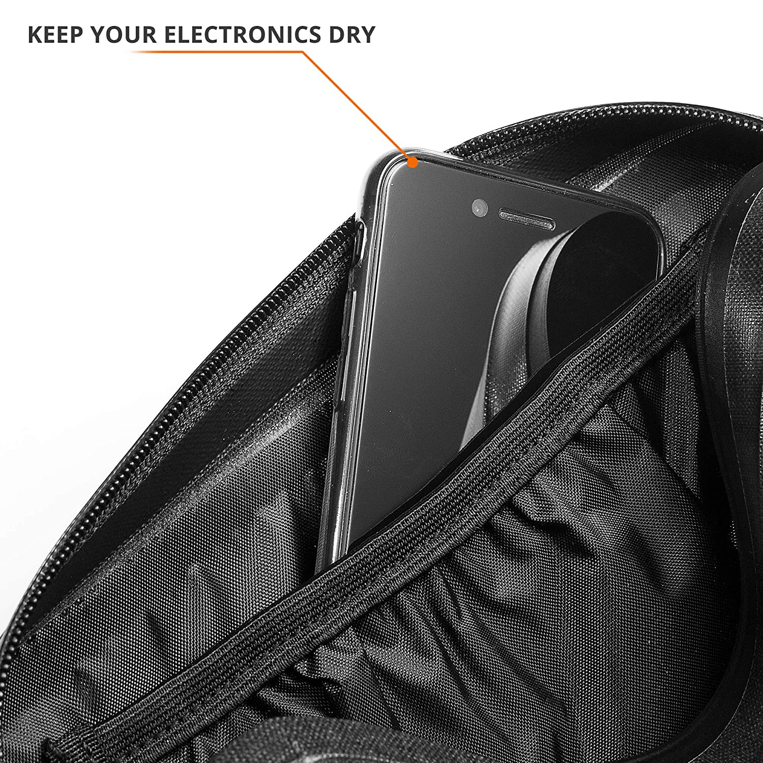 Camping Kayaking Hiking Durabag 100/% Waterproof Fanny Pack with Airtight Zipper Waist Bag for Running Protection for Smartphone and Handheld Camera from Dust Rain and Water Cycling